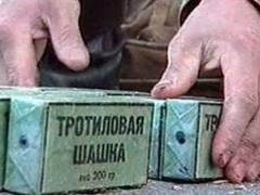 Милиция задержала в Киеве мужчину с 200-граммовой тротиловой шашкой