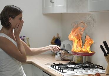 Киевлянке стало плохо во время приготовления ужина