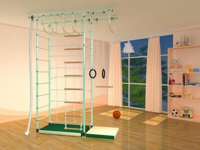 Преимущества детской шведской стенки для занятий спортом дома