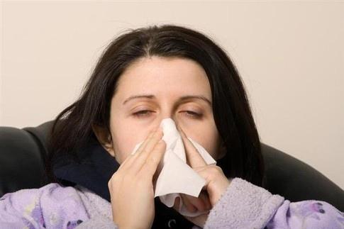 В Киев идет грипп