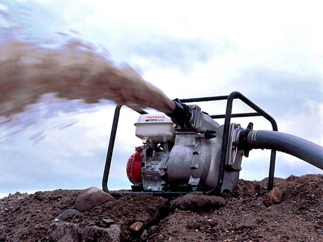 Преимущества мотопомп для грязной воды