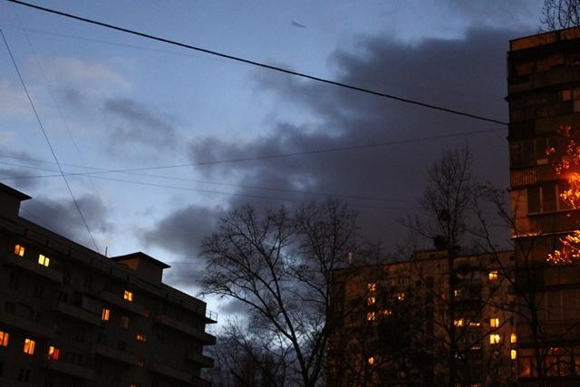 Непогода решила объявить нападение на Киев