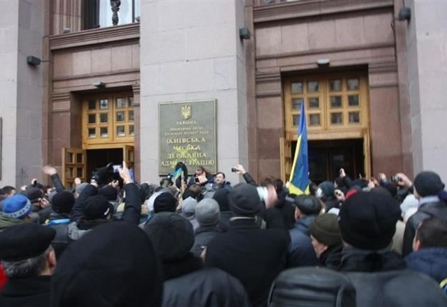 Попов уверен, что захват здания КГГА был тщательно спланирован