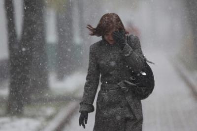 В Киеве ожидаются метели с сильными порывами ветра