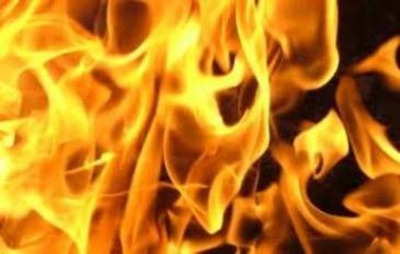 Во время пожара киевский бездомный получил 98% ожогов тела