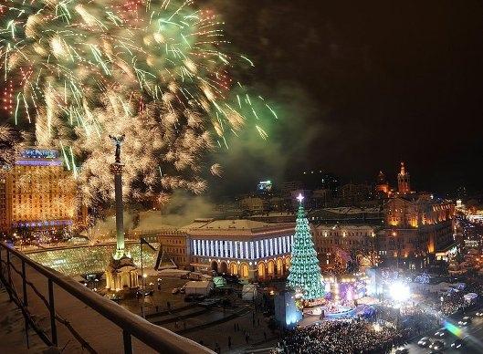 Активисты на Майдане планируют установить живую елку