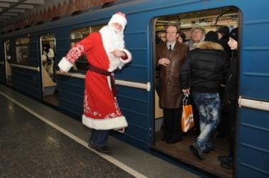 В киевском метро готовят новогодний флешмоб