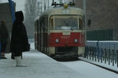 Из-за ДТП на площади Победы 40 минут не ходили трамваи