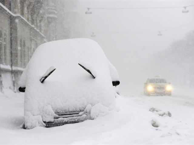21 декабря на Киев обрушится снегопад