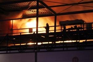 """В результате пожара на рынке """"Столичный"""" погибли два человека"""