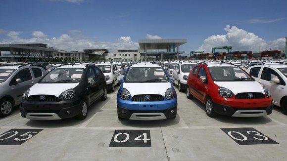 Китай на автомобильном рынке России