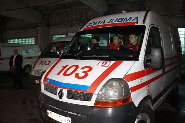 Киевским медикам пришлось потрудиться в новогоднюю ночь