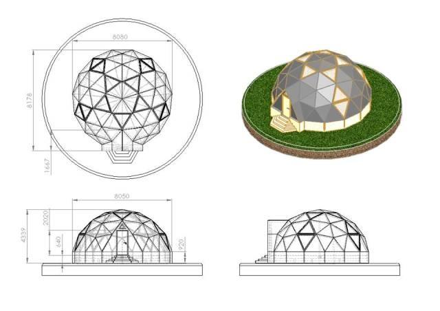 """Вместо """"бомжацких"""" палаток на Майдане могут появиться купольные евродомики"""