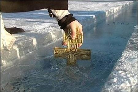 Киевский Гидропарк готовят к Крещению