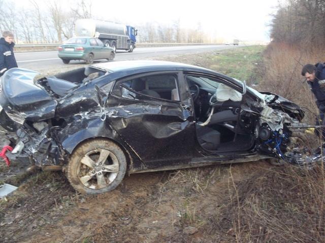 Смертельное ДТП под Киевом: по вине пьяного водителя погиб пассажир