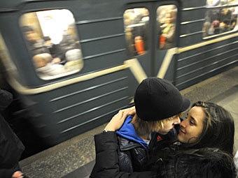 В Киевском метро ищут влюбленную пару для бесплатной фотосессии