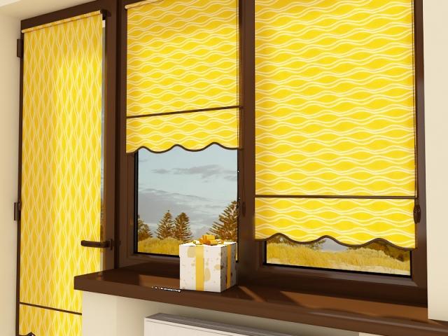 Рулонные шторы: основные виды и их преимущества.