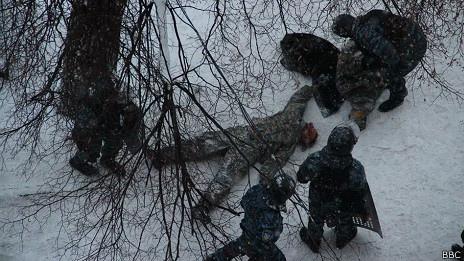 В погибших на улице Грушевского стреляли с 2-3 метров - МВД