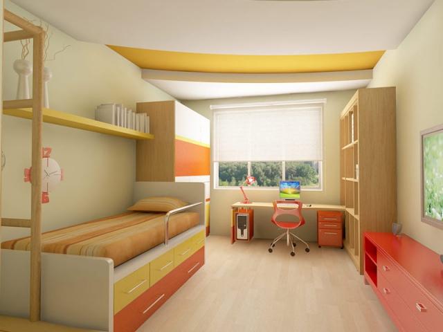 В детской комнате ребенка должно быть до трех единиц мебели