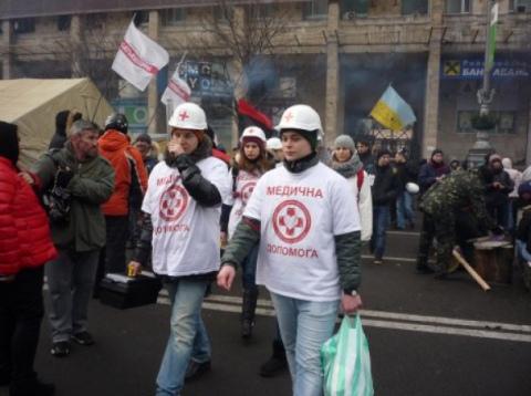 В КГГА не до конца одобряют работу медиков-волонтеров на Майдане