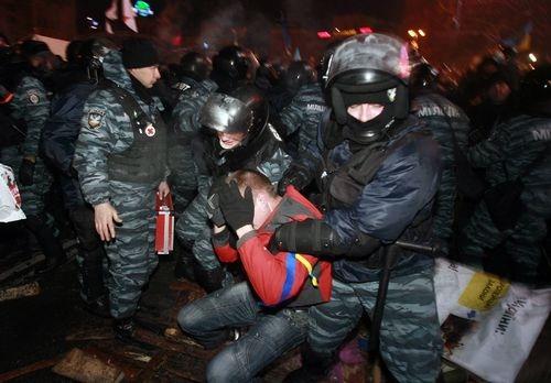 Милиция освободила заложников в КГГА