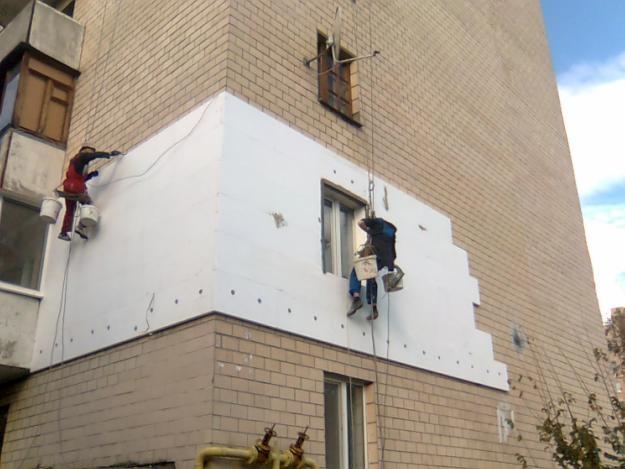 Утепление фасадов: достоинства полифасада