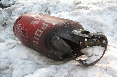 Под Киевом произошел взрыв. Ранены два человека