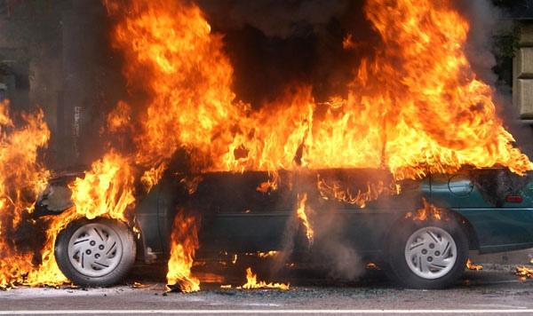 В Киеве задержан поджигатель авто. За каждую машину ему обещали 300 гривен