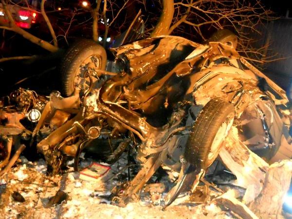 Ночью в Киеве случилось ДТП - погибли два человека