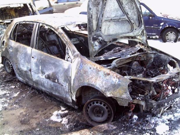 В МВД обещают, что поджогов авто в Киеве не будет