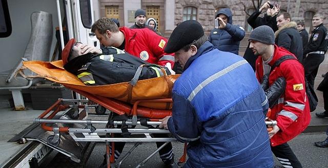 В КГГА охранники подстрелили своего коллегу