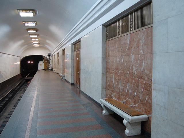 """Киевлянка """"подложила"""" бомбу на станцию метро """"Арсенальная"""""""