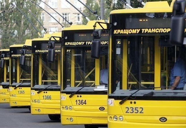 Киевский транспорт станет доступным в онлайн-режиме