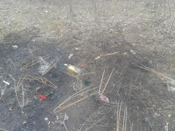 Вандалы осквернили могилу погибшего в Киеве активиста
