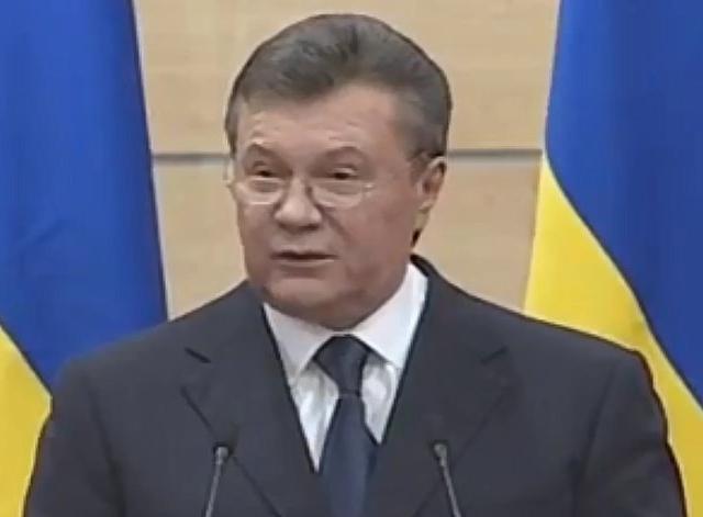 Янукович пообещал очень скоро вернуться в Киев