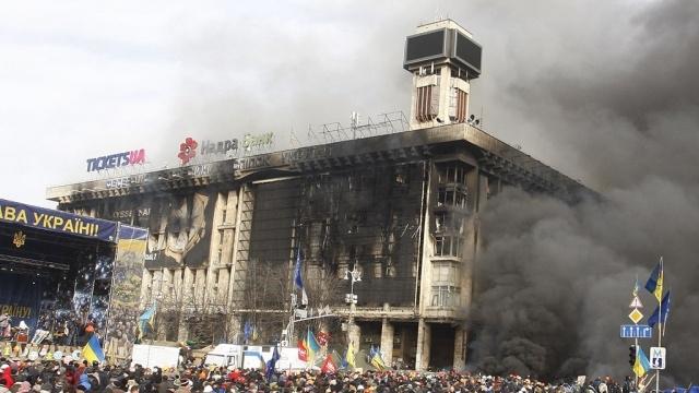 """Дом профсоюзов на Майдане может стать музеем """"Небесной сотни"""""""
