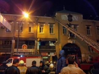 Ночью в Киеве горел Бессарабский рынок