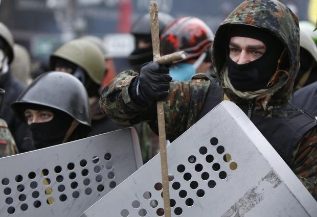Бойцы Самообороны Майдана отправятся на военные учения