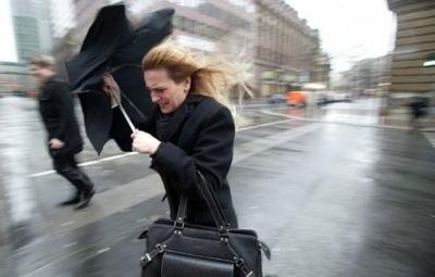 17 марта по Киеву объявлено штормовое предупреждение