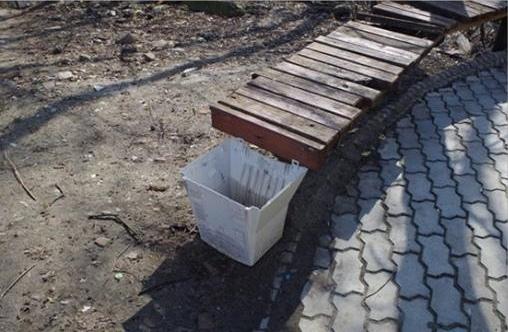 В КПИ появились мусорные урны из-под ЭЛТ-мониторов