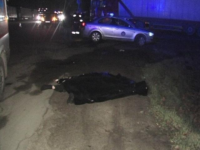 На Большой Кольцевой автомобиль убил пешехода