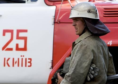 """На проспекте Победы сгорел """"Камаз"""""""