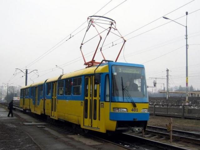 В Киеве на два дня изменят 5 трамвайных маршрутов