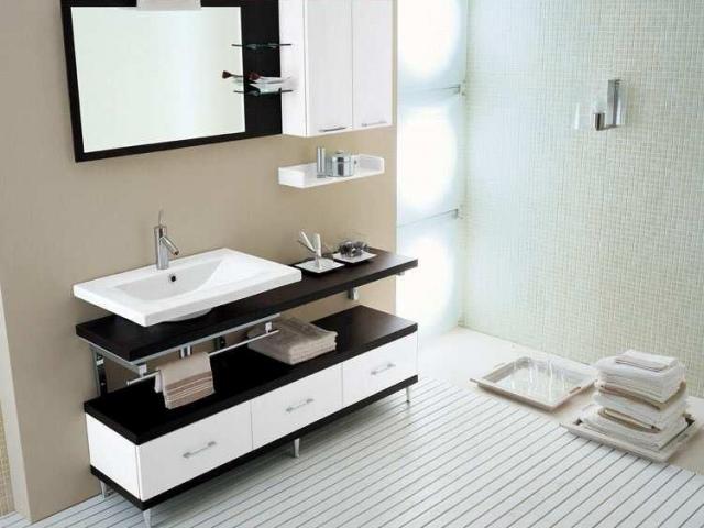 Мебель для ванных комнат имеет свои особенности производства