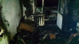 Из-за пожара в квартире мальчик остался без отца