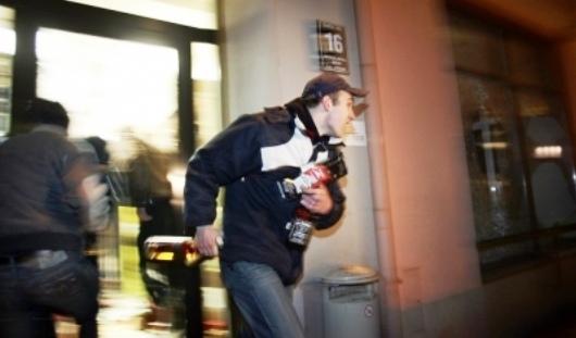 В киевском супермаркете удалось поймать вора со стажем