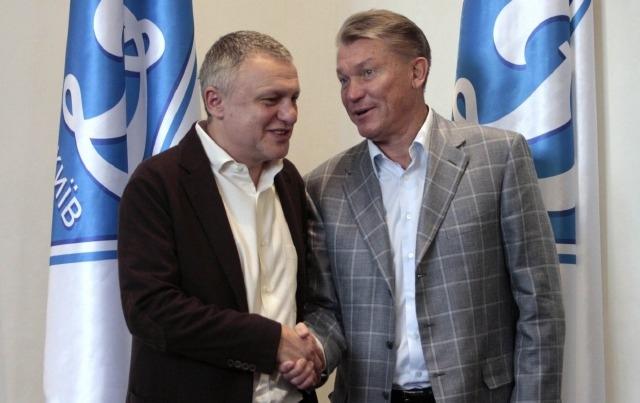 """Блохин может остаться работать в """"Динамо"""" - И. Суркис"""