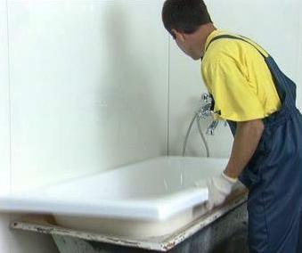 Акриловый вкладыш для ванны. Новые технологии в ремонте
