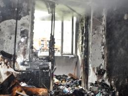 На Пасху в собственной квартире едва не сгорела киевлянка