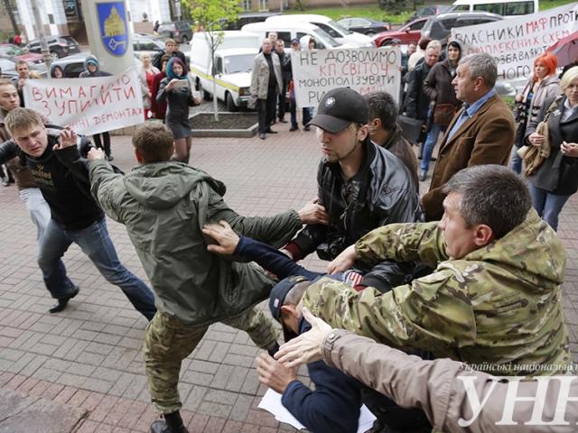 """В Киеве подрались """"фанаты"""" МАФов"""